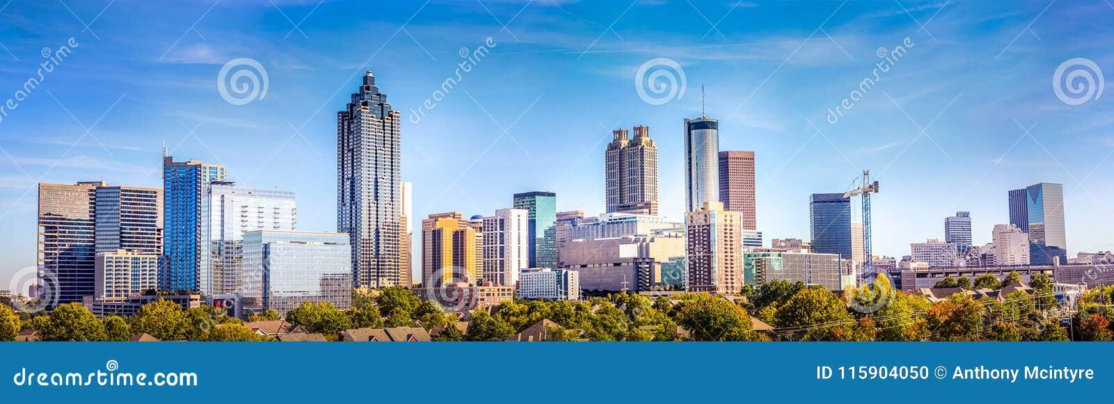 Dowtown Atlanta Georgia Skyline