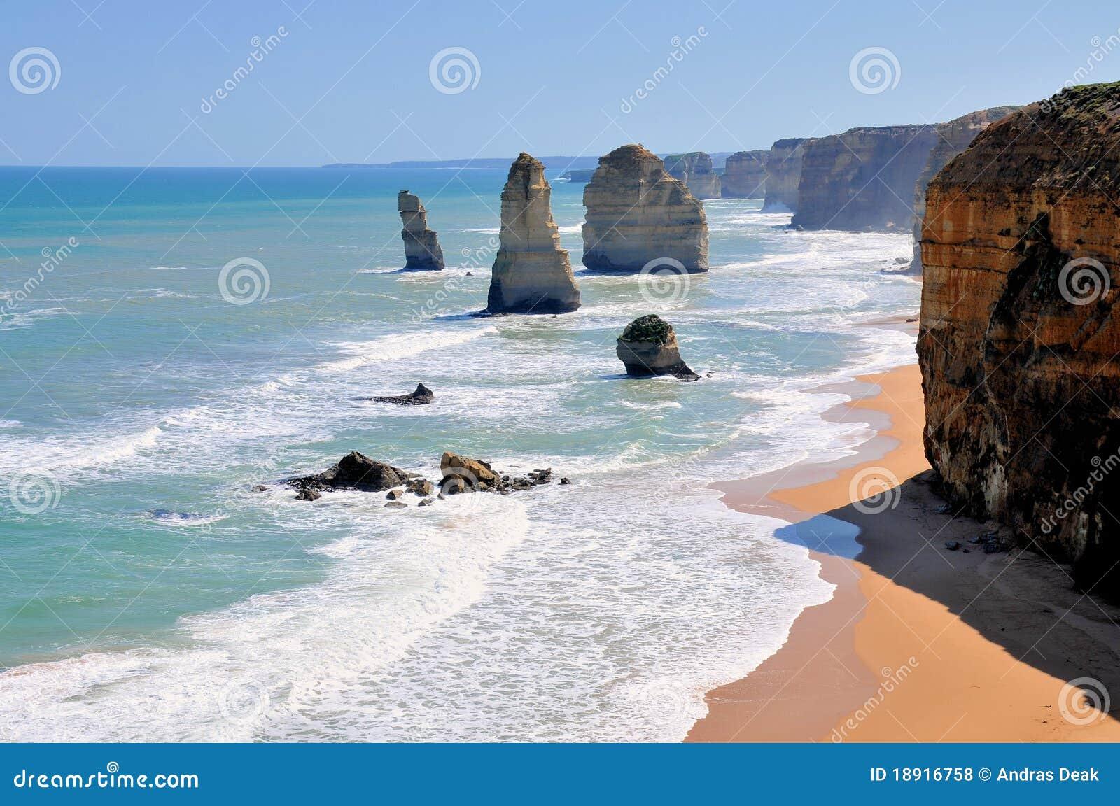 Doze apóstolos na grande estrada do oceano, Austrália