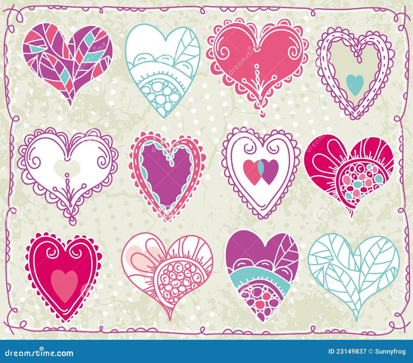 dd7f5339e089bf Doze Valentim Coração, Vetor Ilustração do Vetor - Ilustração de ...