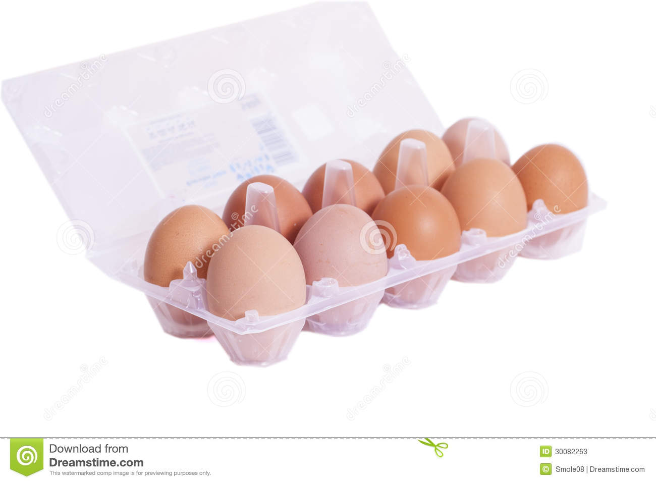Tray Of Eggs Stock Photos - Image: 30082263