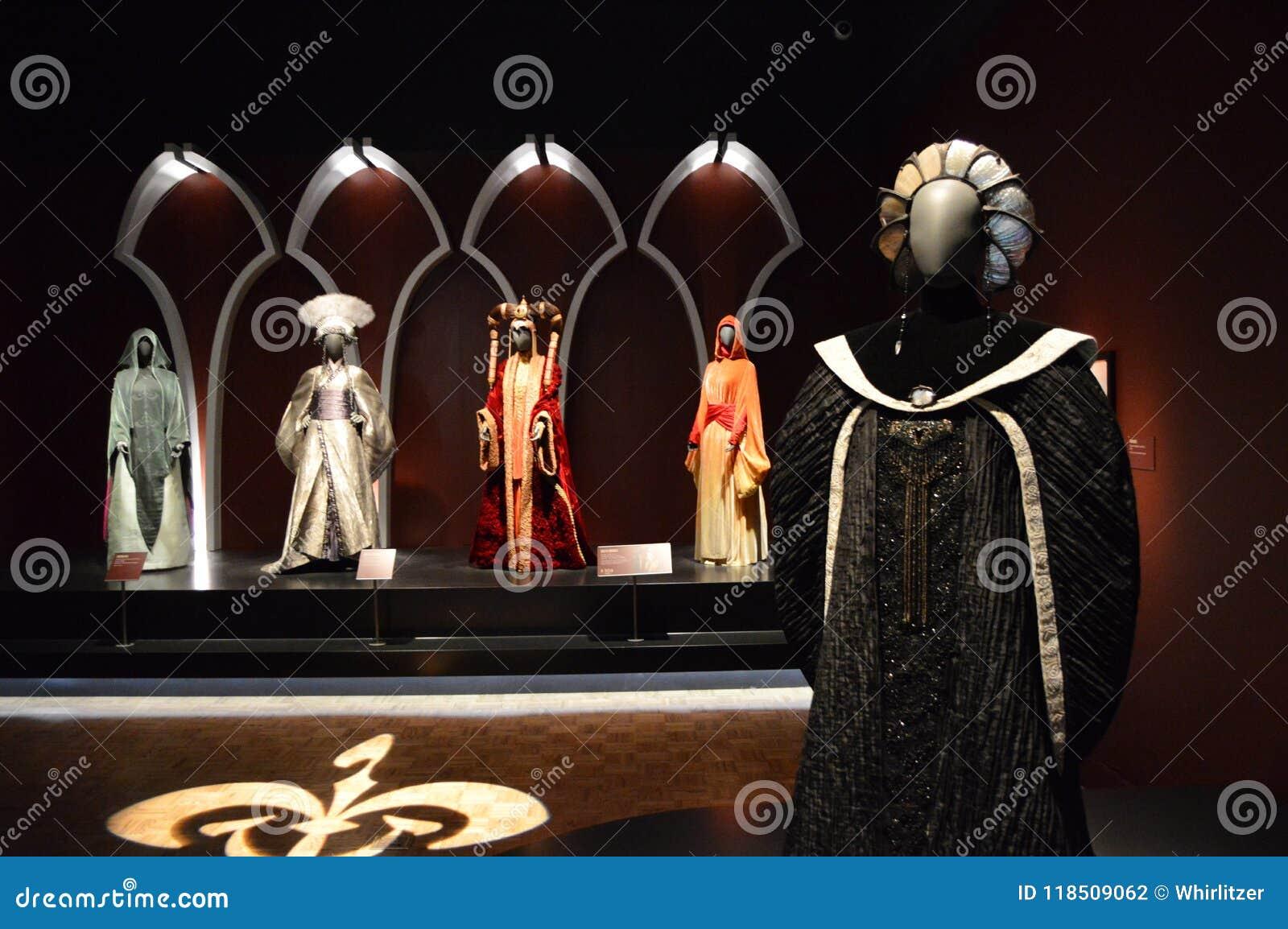 Dräkter för drottning Amidala