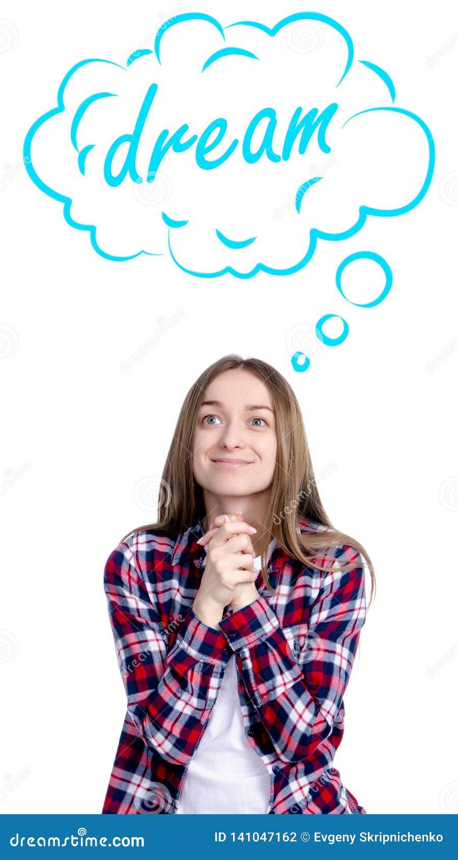 Dröm- moln för kvinna