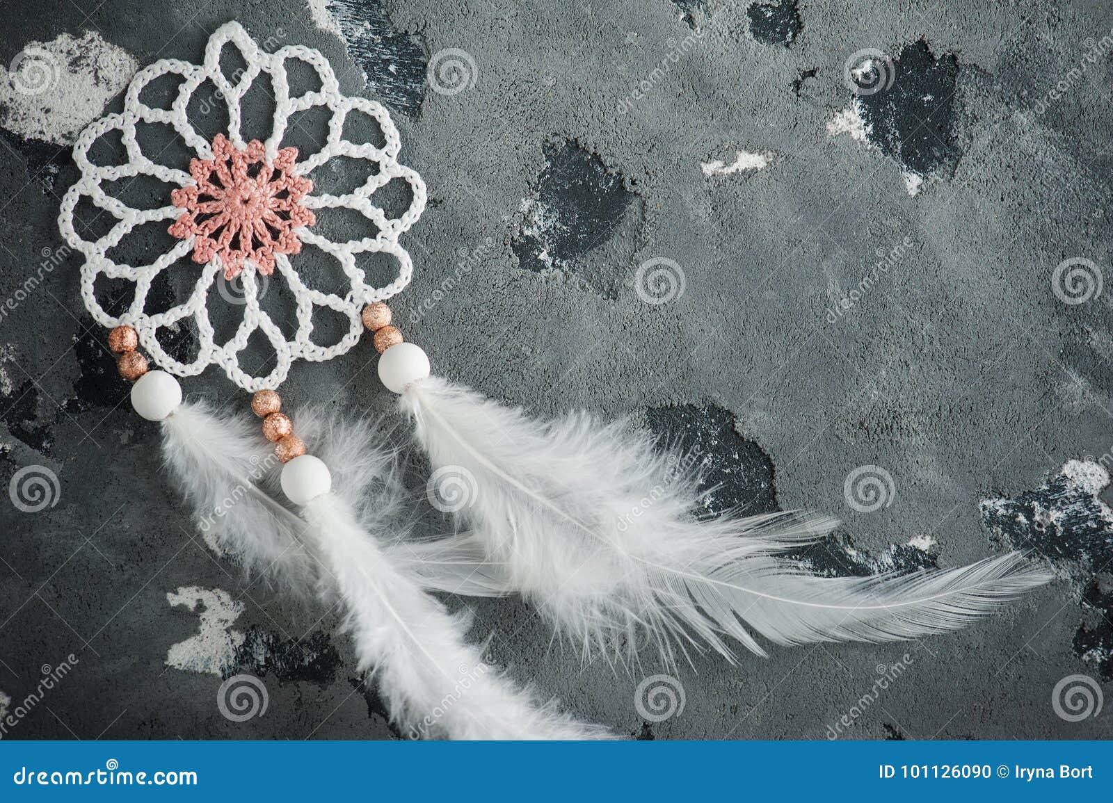 Dröm- stopparecloseup för vit