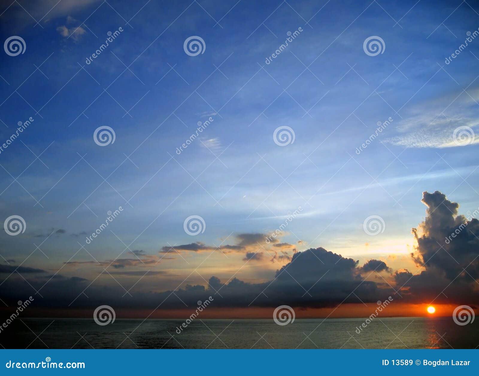 Drömm soluppgångtid