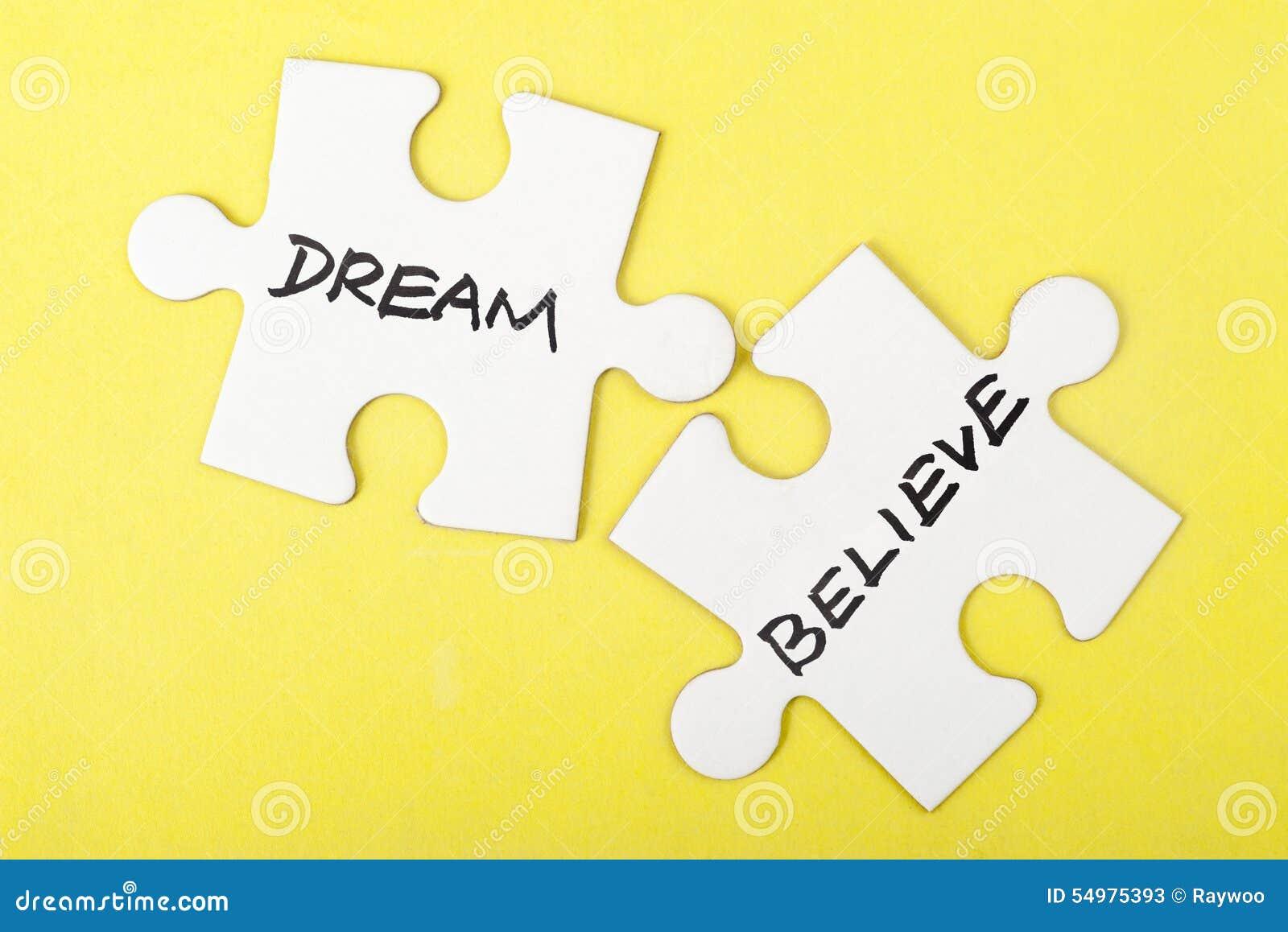 Drömmen eller tror