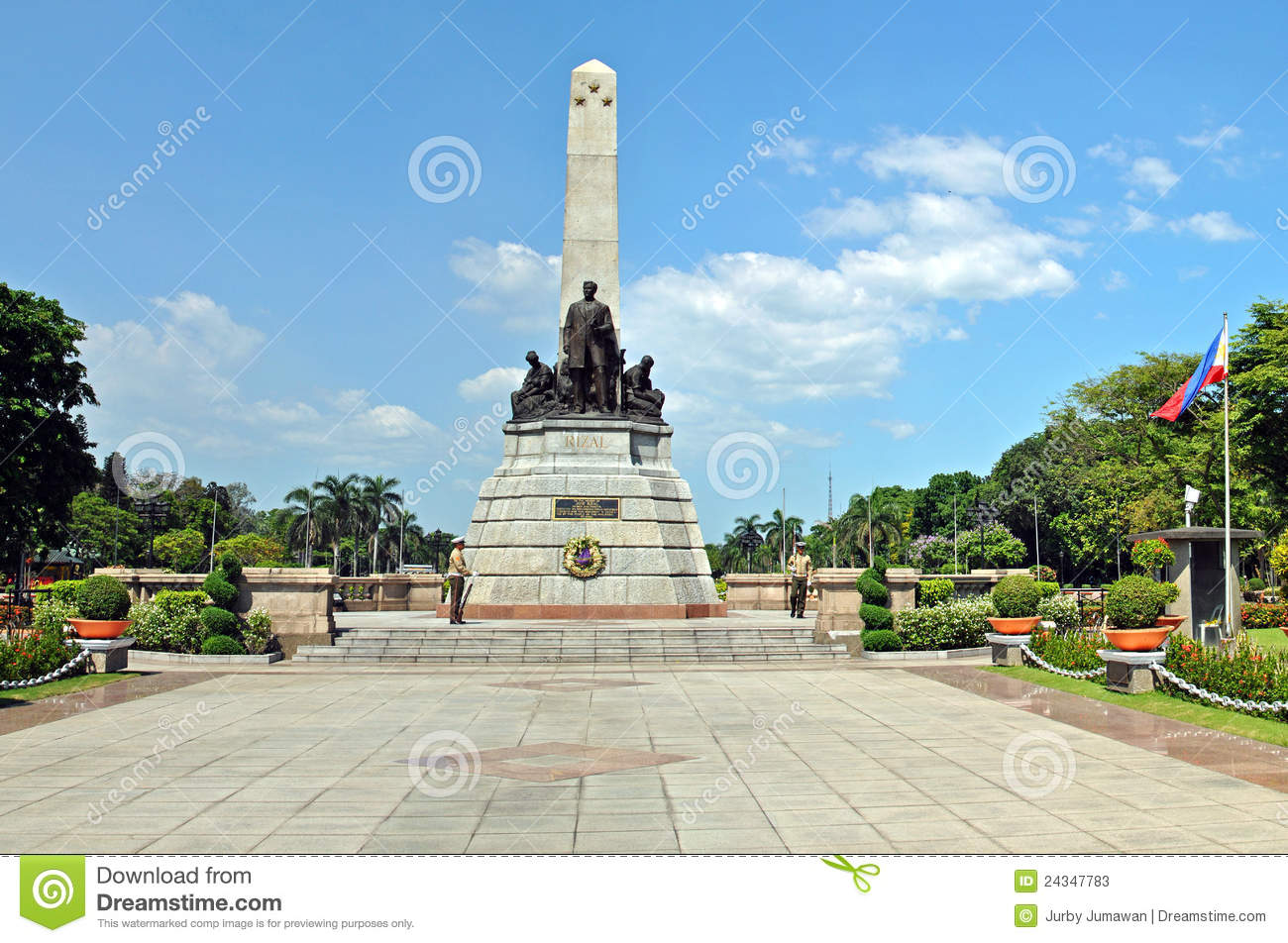 Jose Rizal (1861-1896), the national hero of the Philippines