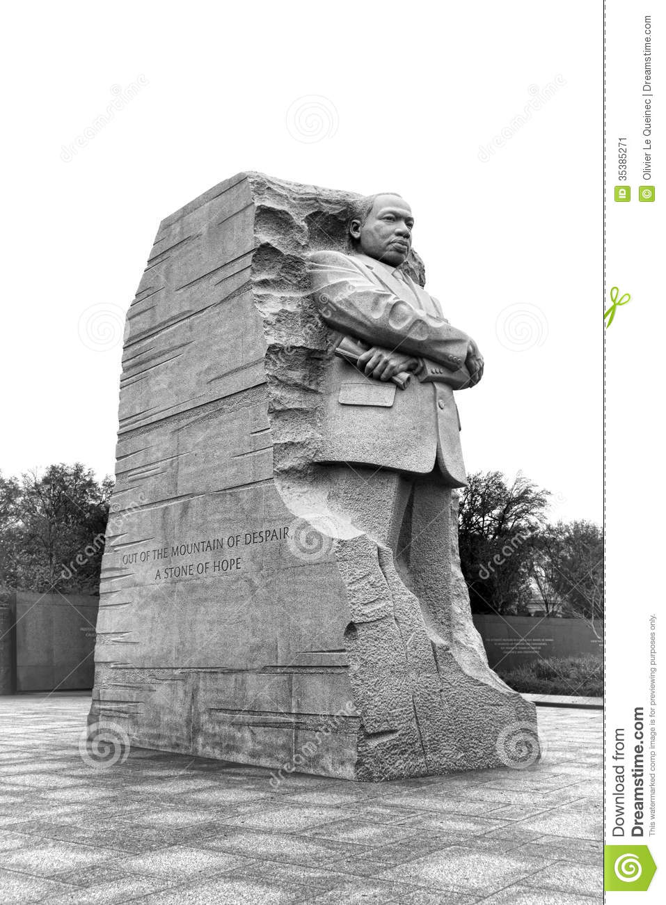Dr Martin Luther King Jr Memorial In Washington Dc Editorial Photo
