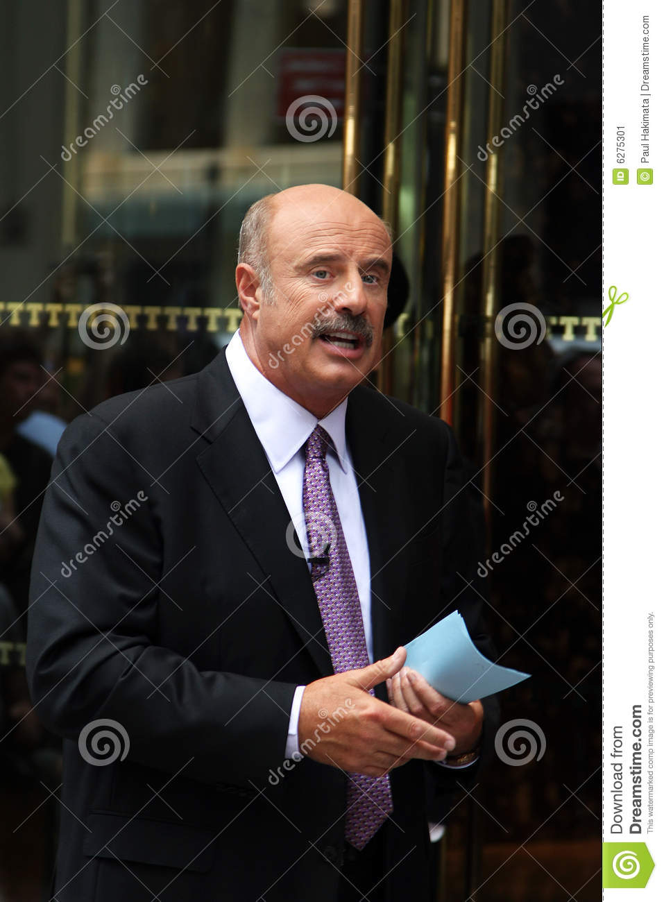 Dr  Phil editorial photo  Image of celebrity, business - 6275301