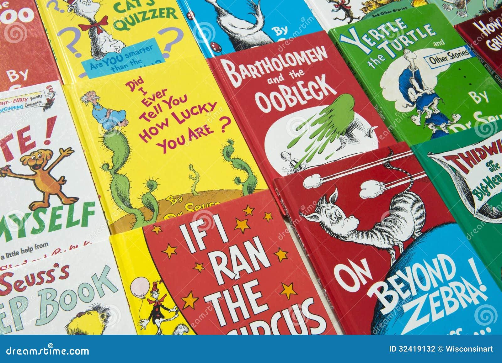 Dr. Suess Children Books