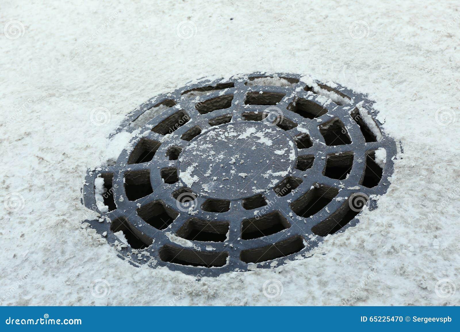 Drażniący manhole
