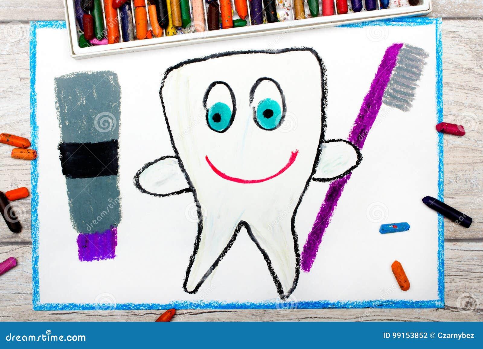 Dra: le den sunda tanden som rymmer en tandkräm och en tandborste