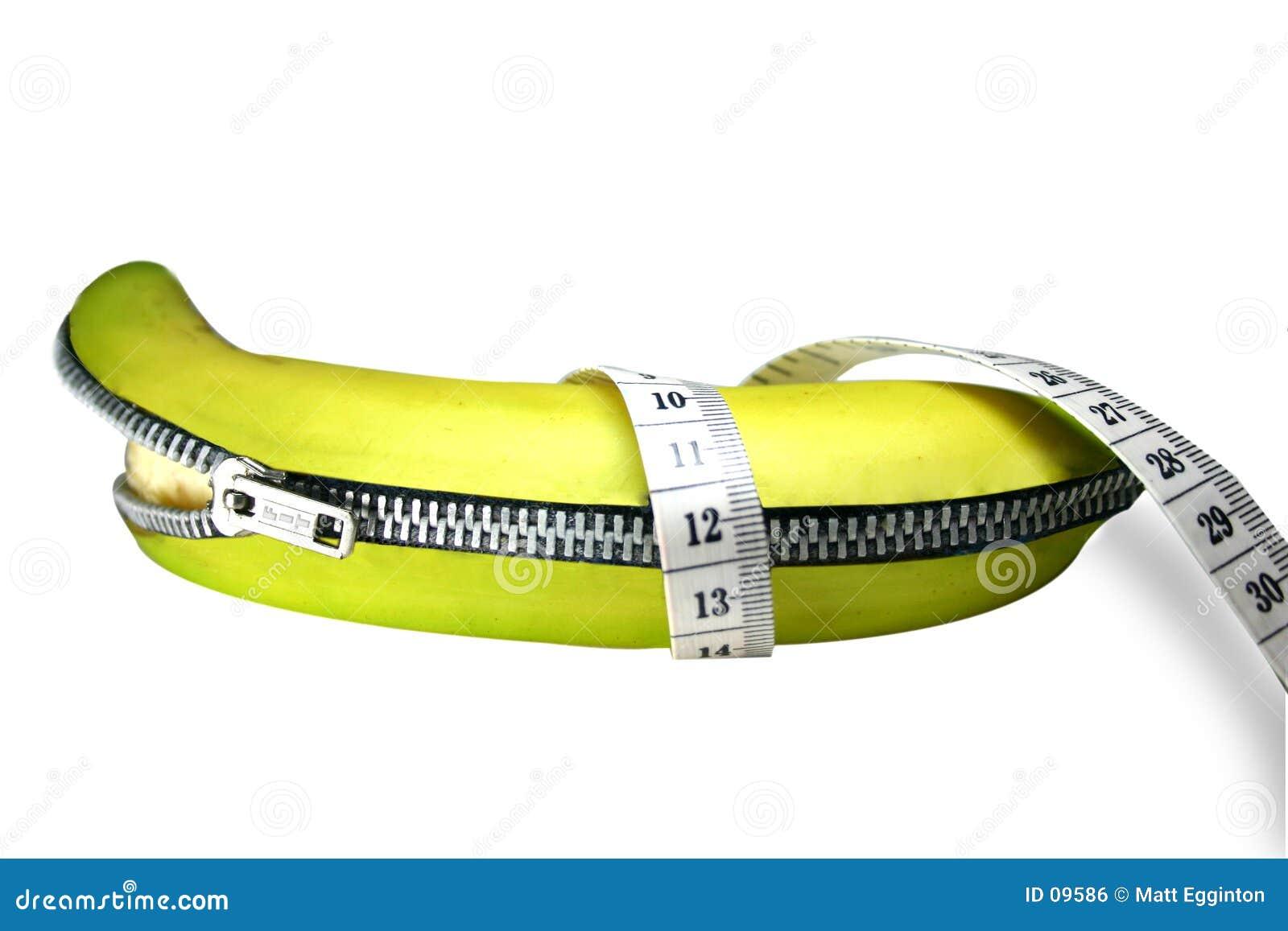Dra ned blixtlåset på för banan