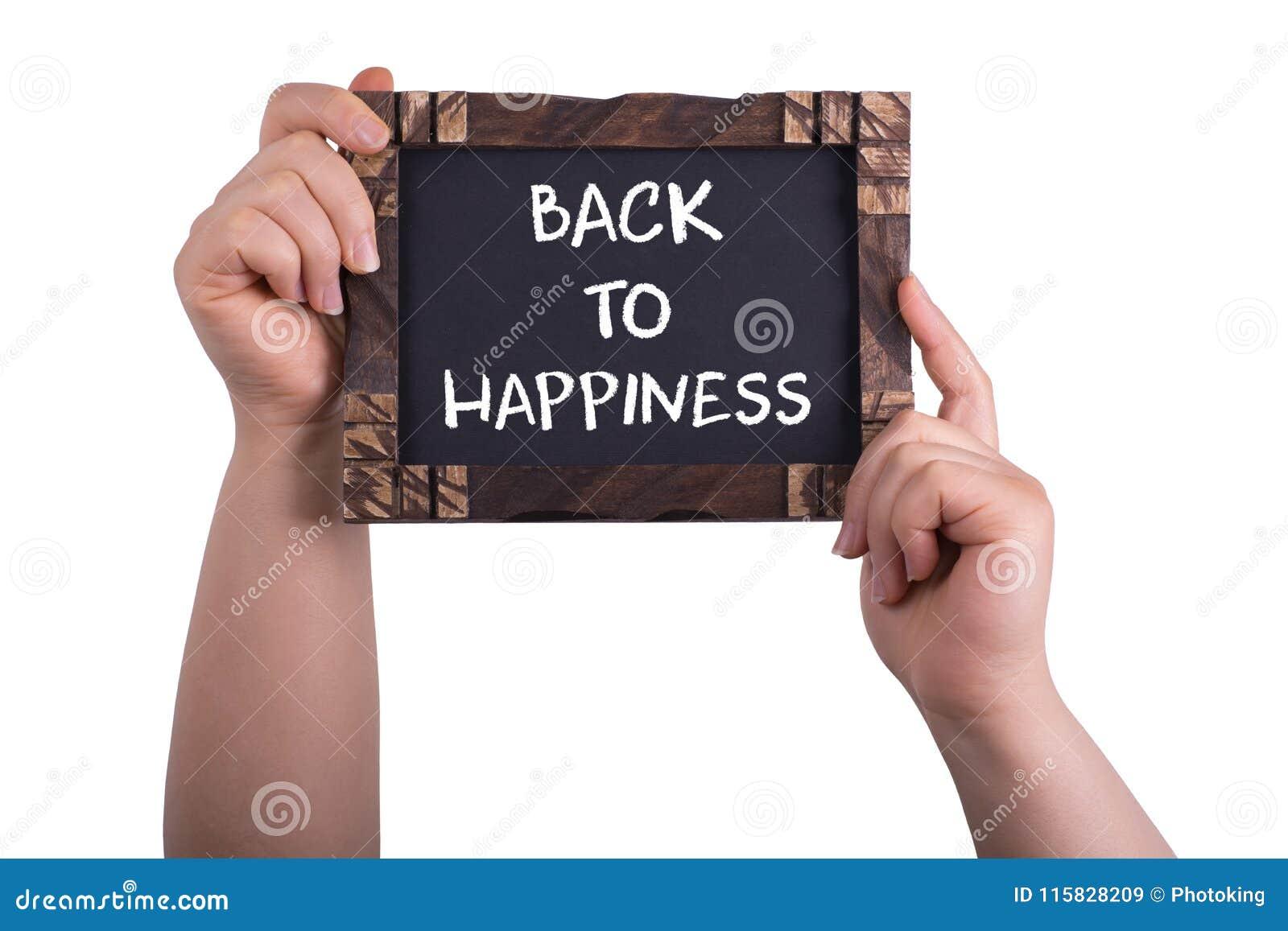 Dra tillbaka till lycka