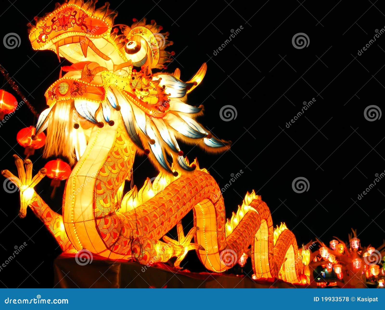 Drache der chinesischen Art