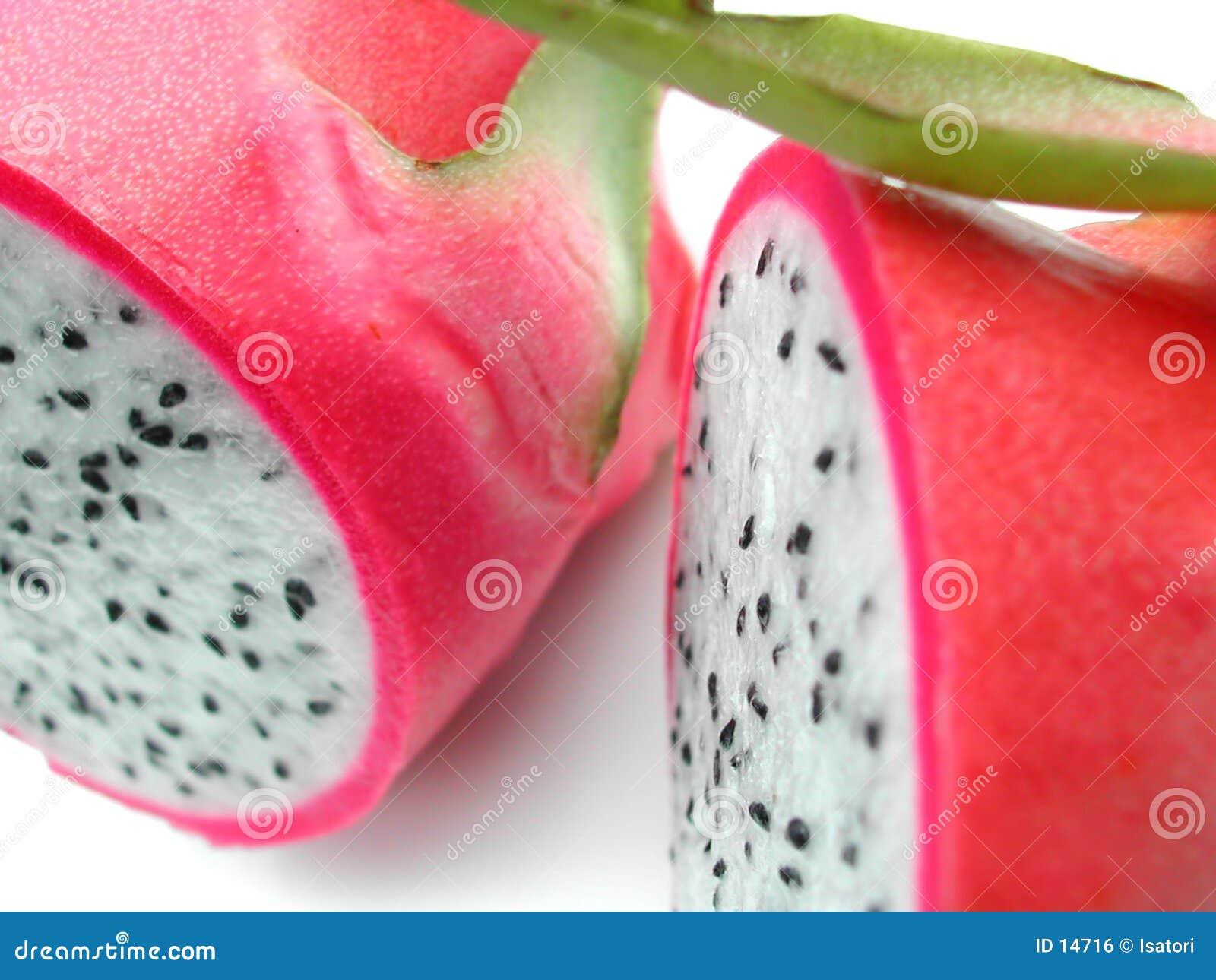 Drache-Frucht-Detail