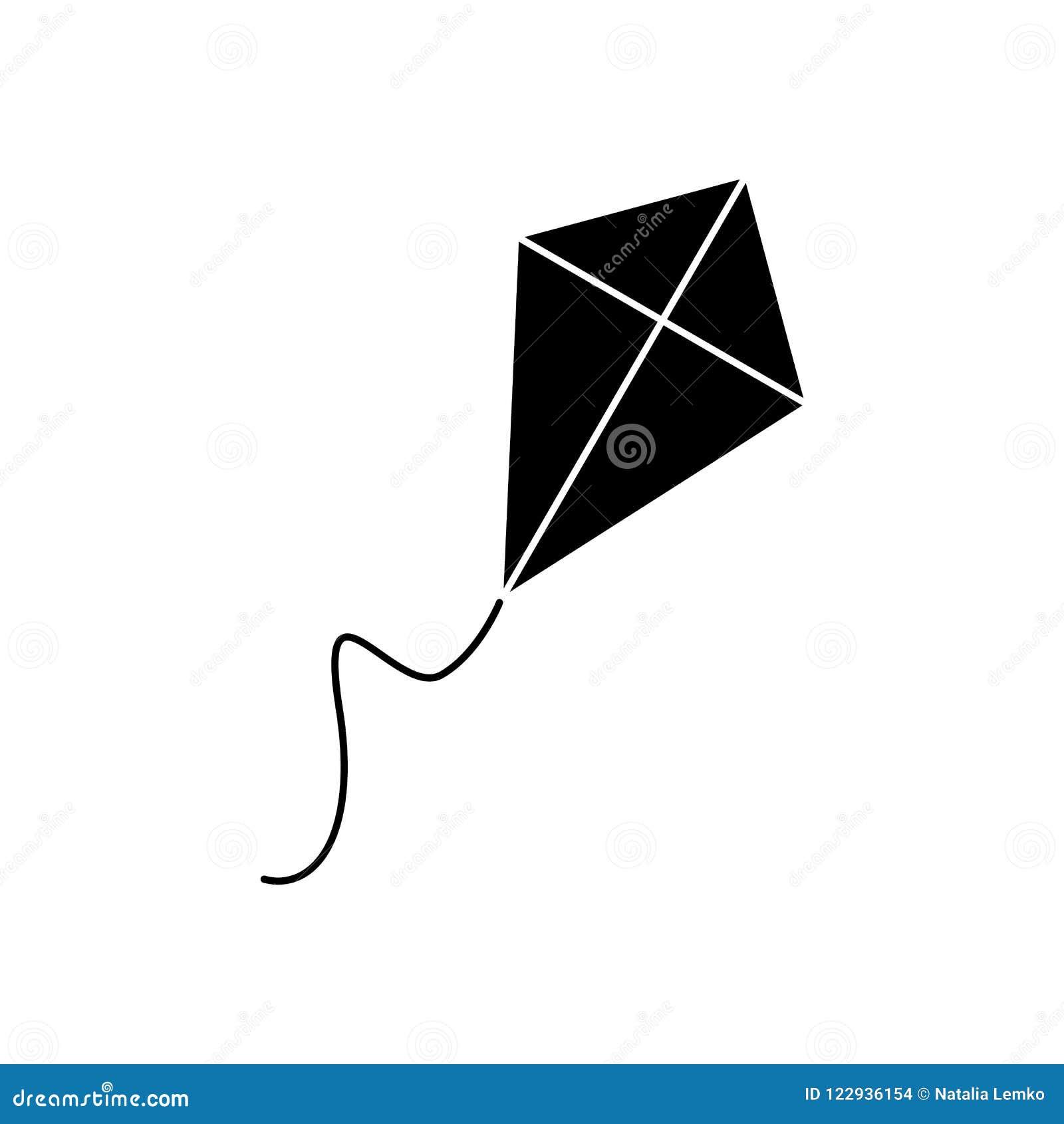 Drachen der schwarzen Ikone