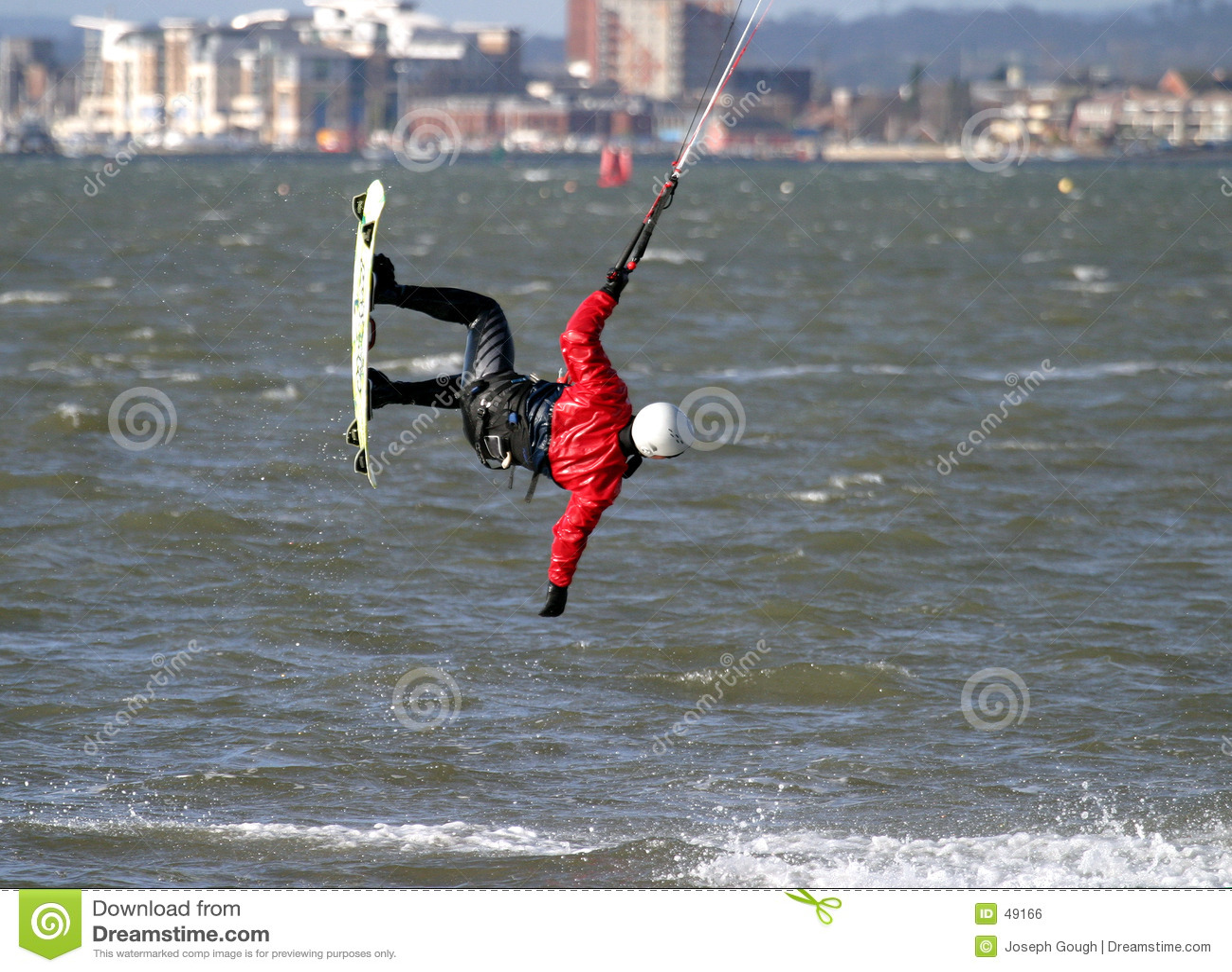 Drachen-Surfer