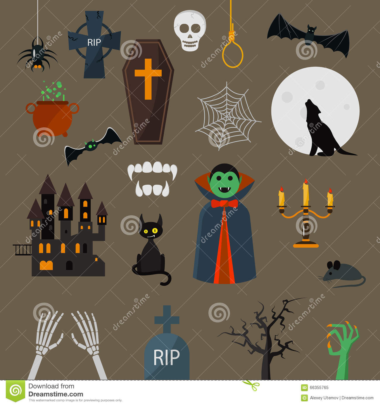 Character Design Elements : Black dracula vampire with cape stock illustration