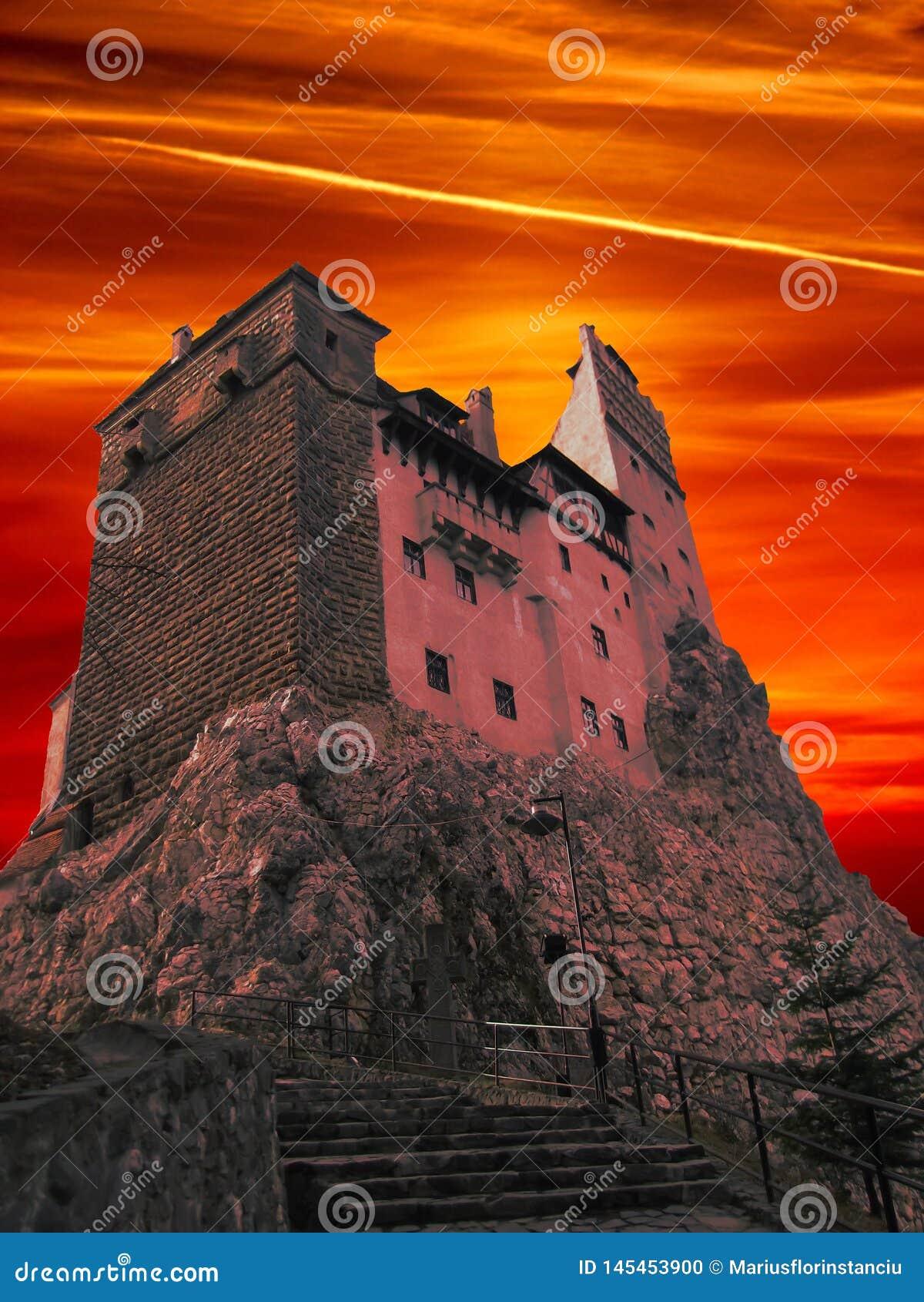 Dracula kasztel od Transylvania