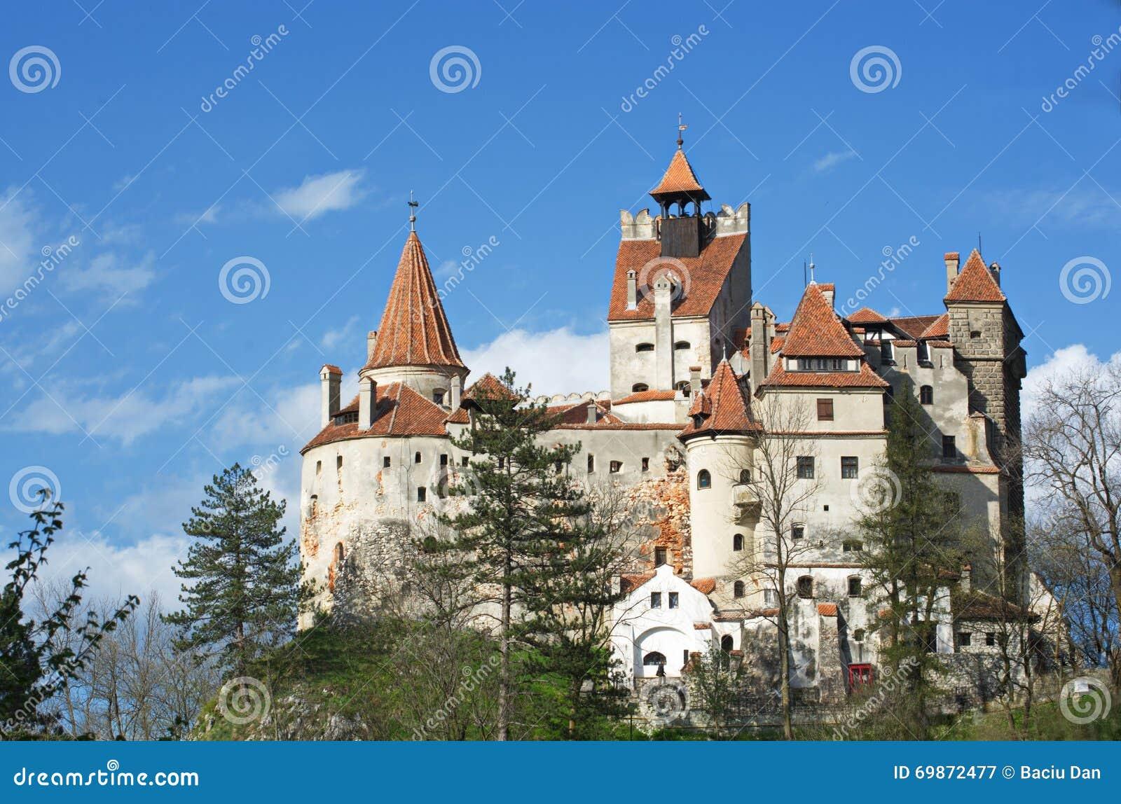 Dracula kasztel - otręby kasztel, Rumunia