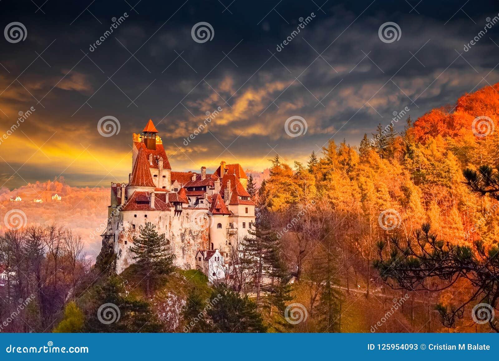 Dracula kasztel otręby, Rumunia