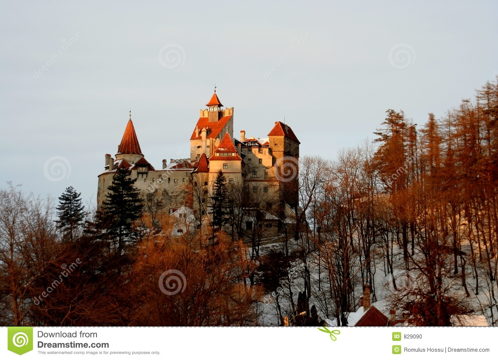 Dracula s Castle - Dusk