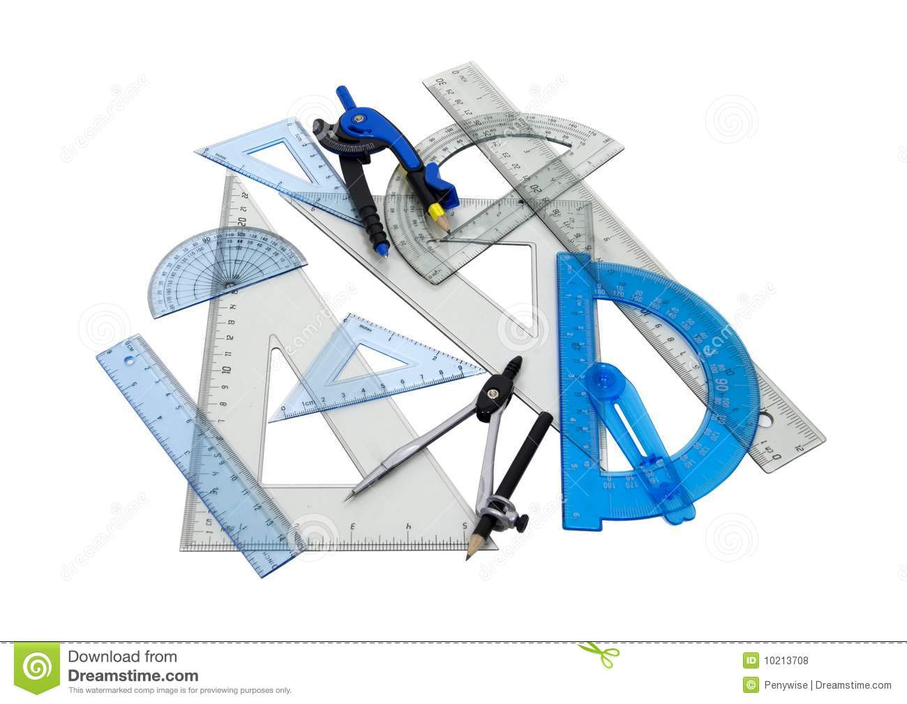 Drafting Tools Royalty Free Stock Photos Image 10213708