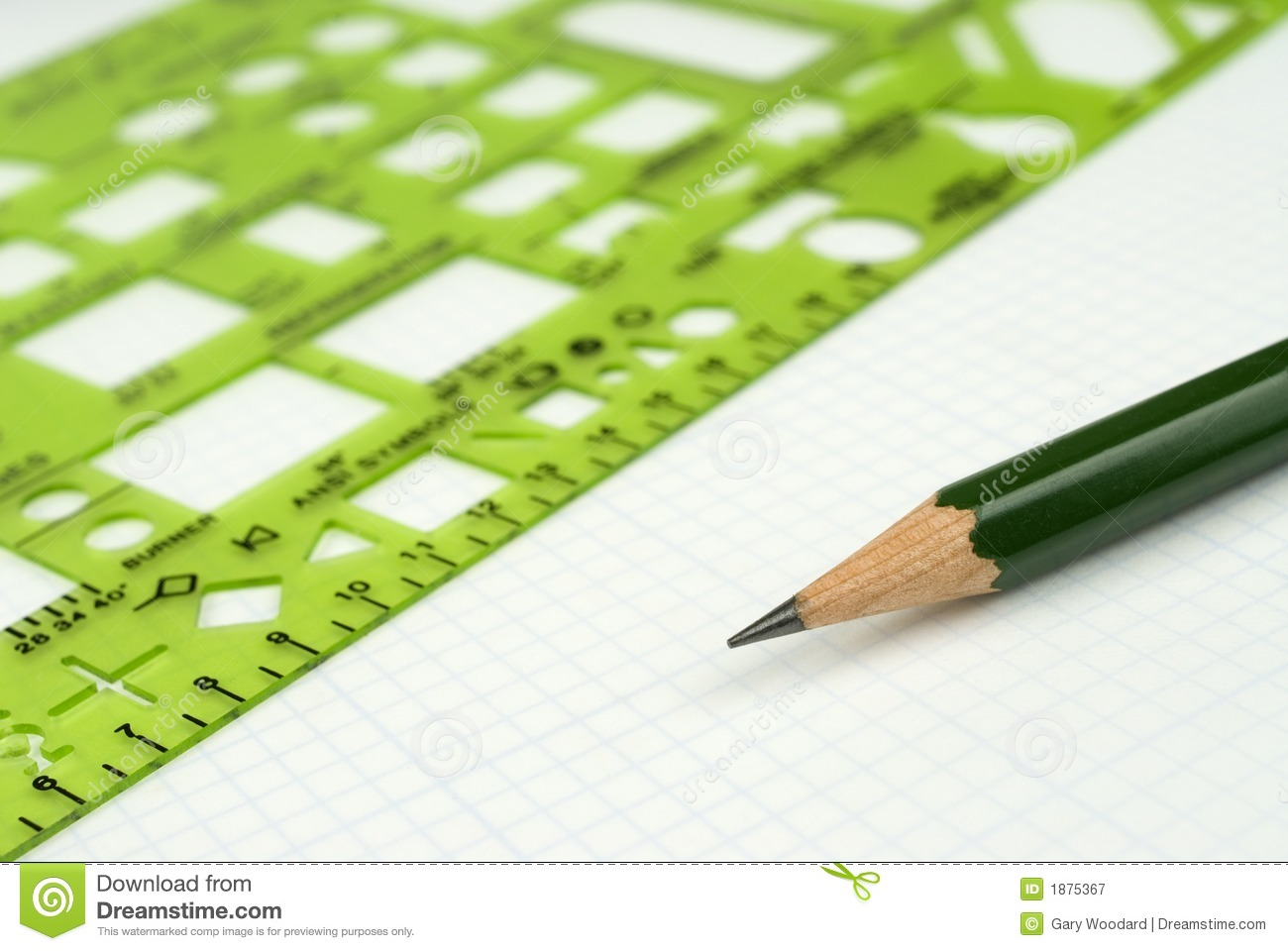 Drafting Tools Royalty Free Stock Photography Image