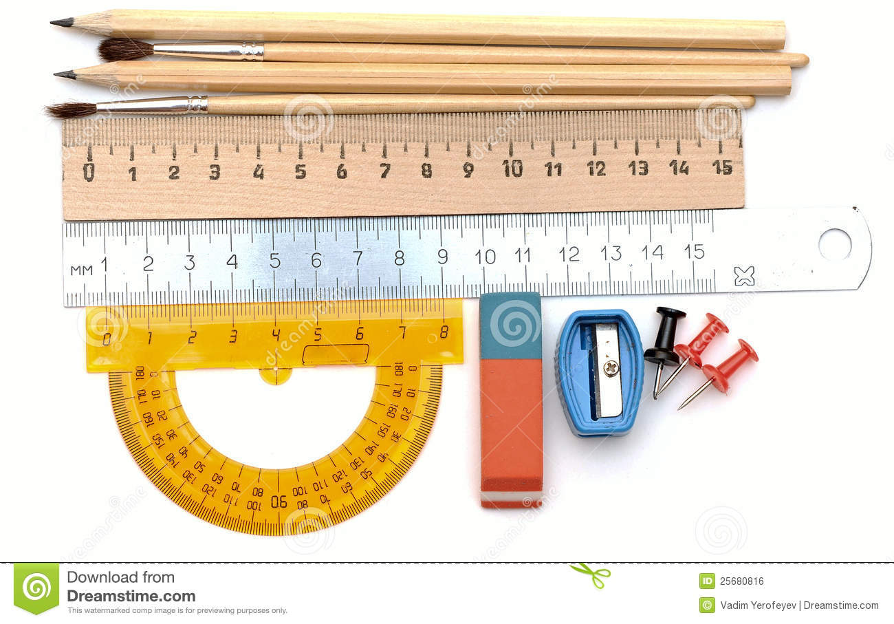 Drafting Tools Royalty Free Stock Image Image 25680816