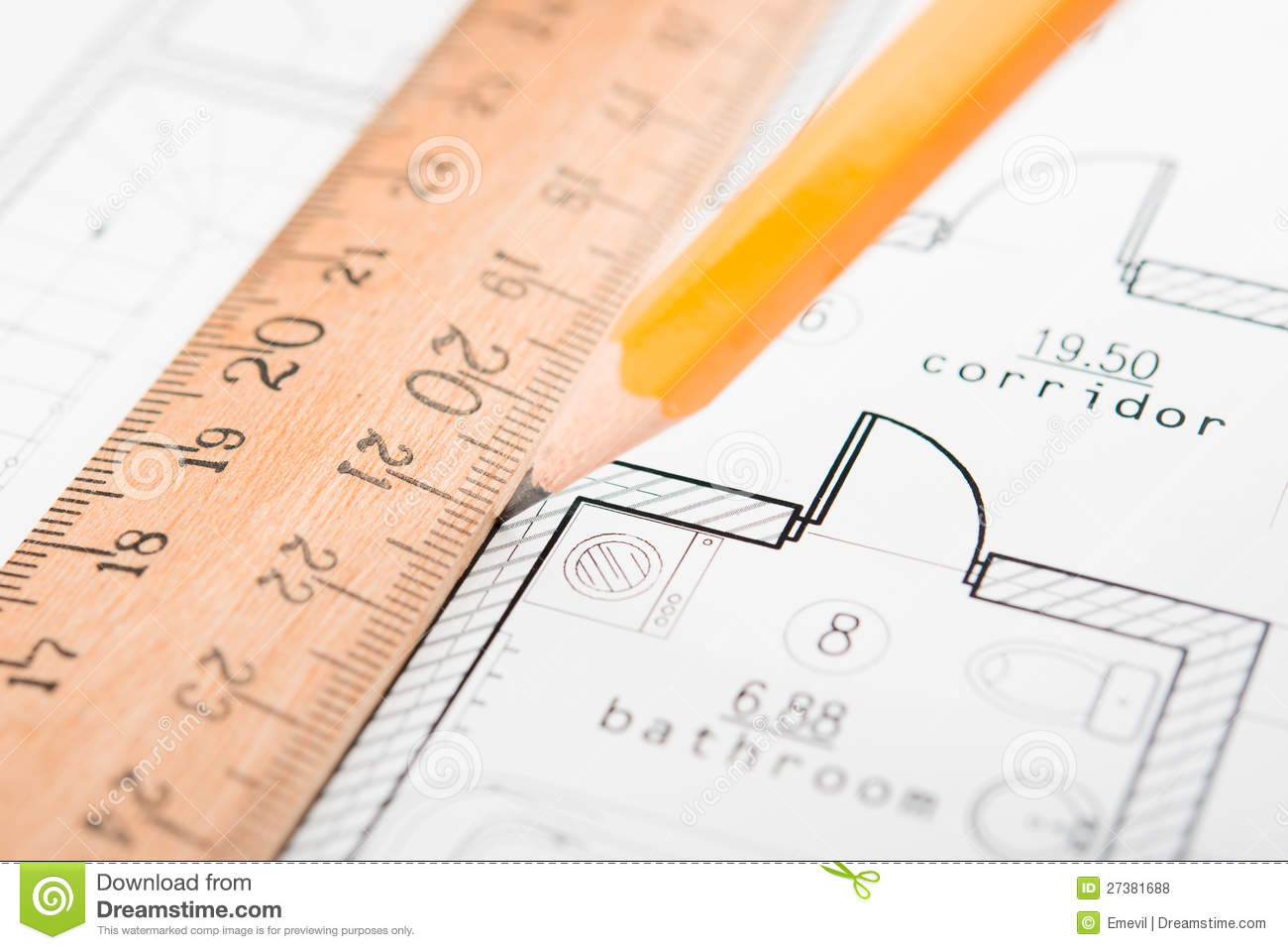 Drafting Tools Royalty Free Stock Photos Image 27381688