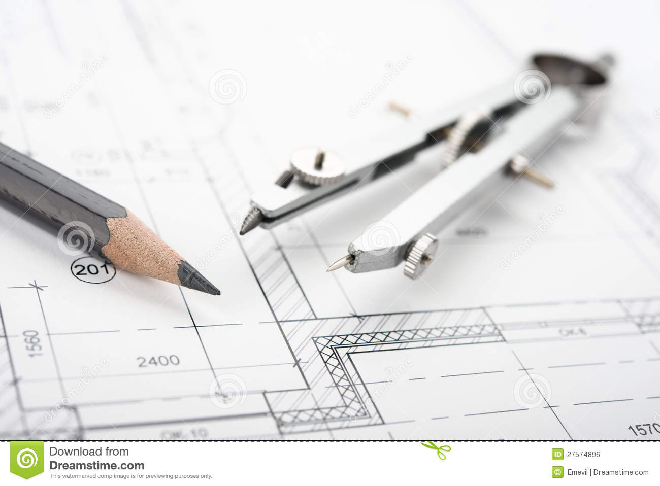 Drafting Tools Royalty Free Stock Image Image 27574896