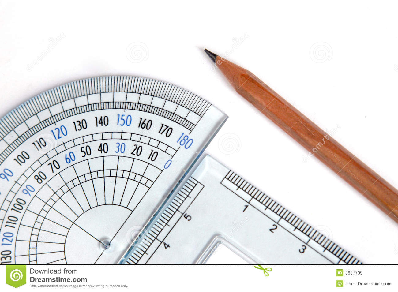 Drafting tools stock image image of degrees architect for Architecture drawing tools