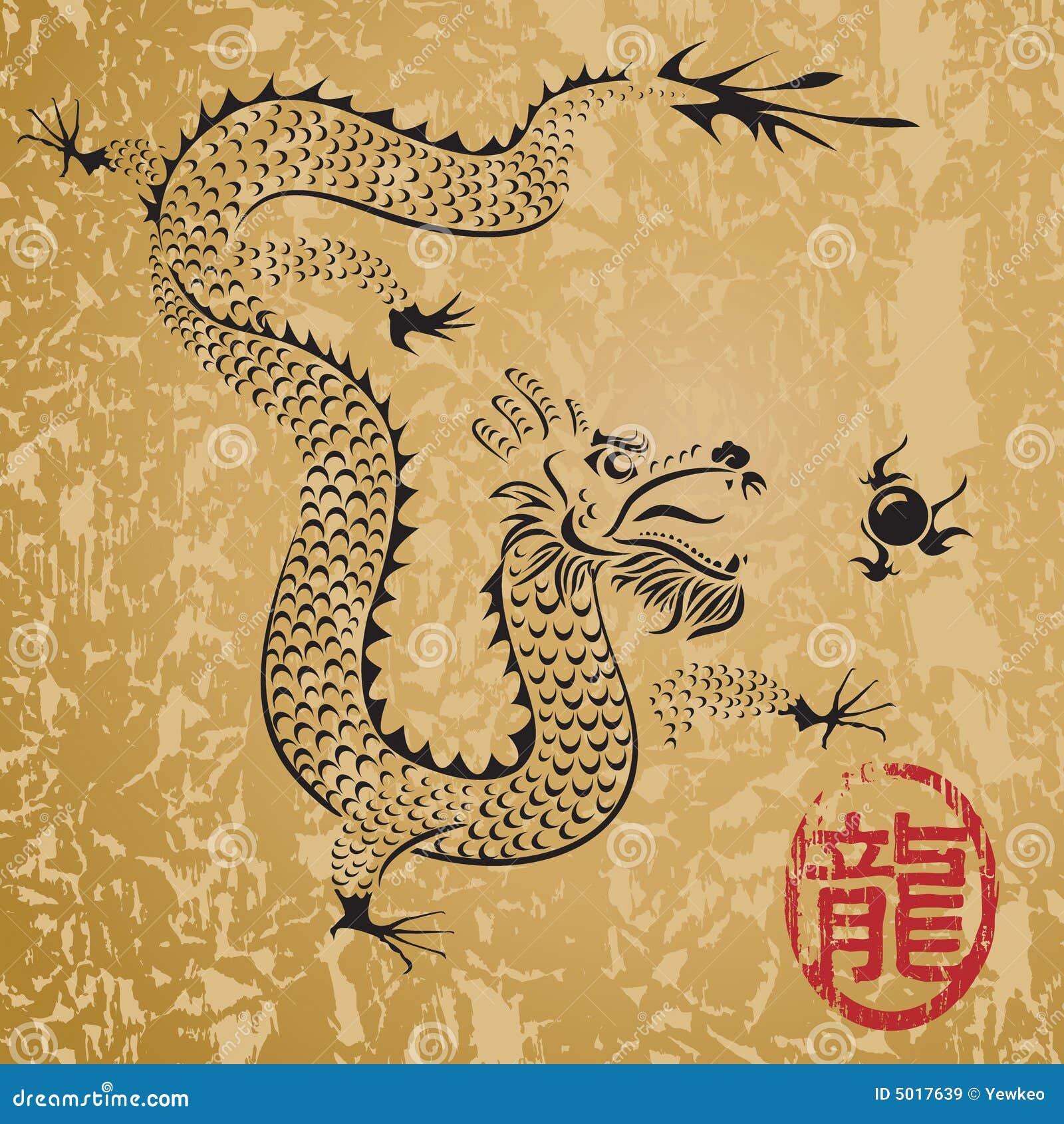 Dragão chinês antigo
