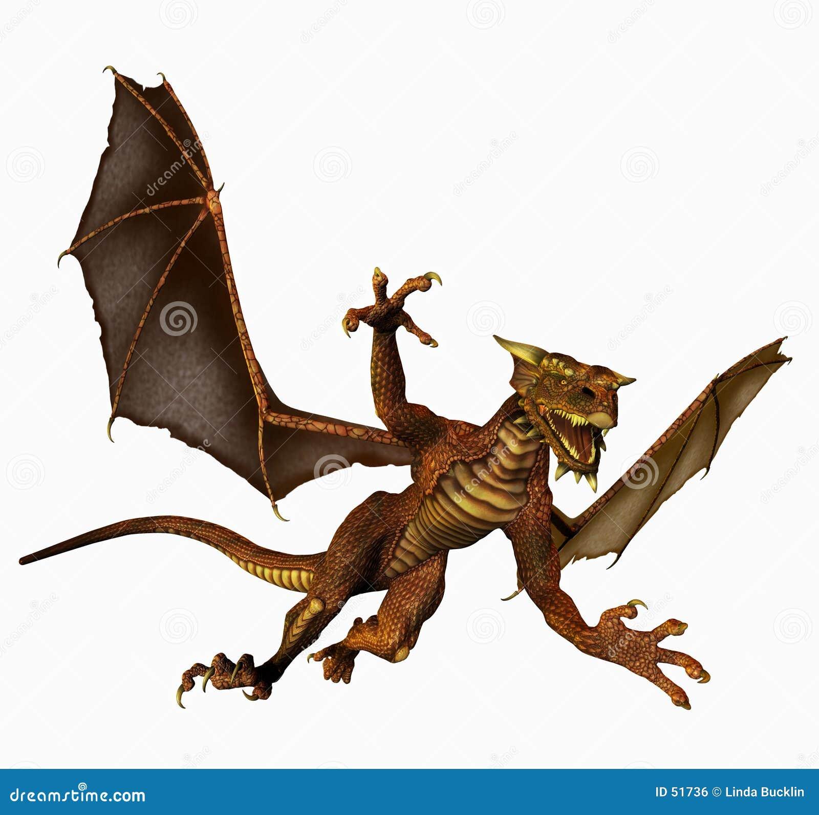 Dragón en vuelo