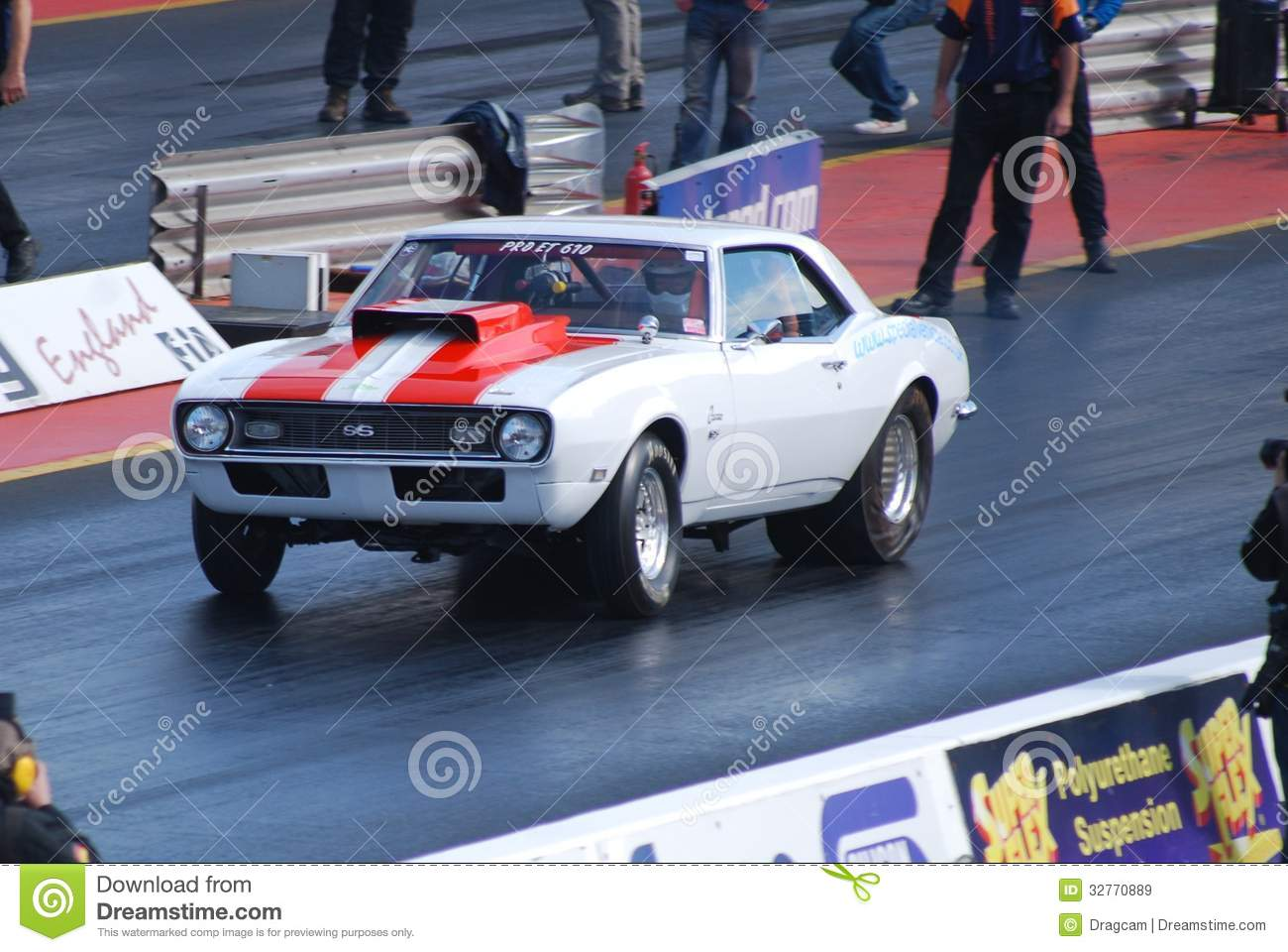 Drag Race Camaro Muscle Car Editorial Stock Image Image Of Muscle