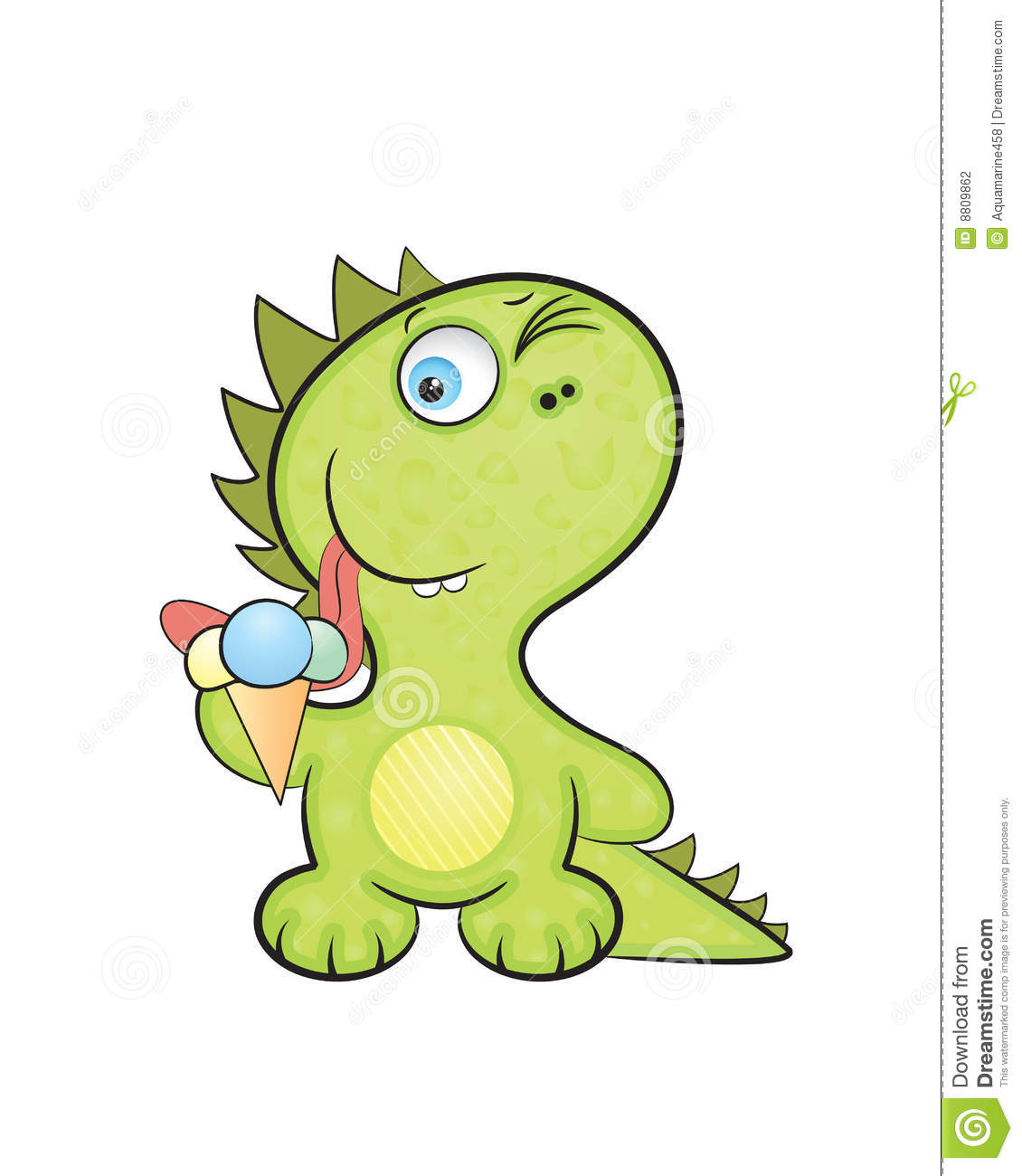 Dragon Baby Stock Vector. Image Of Head, Painted, Ornate