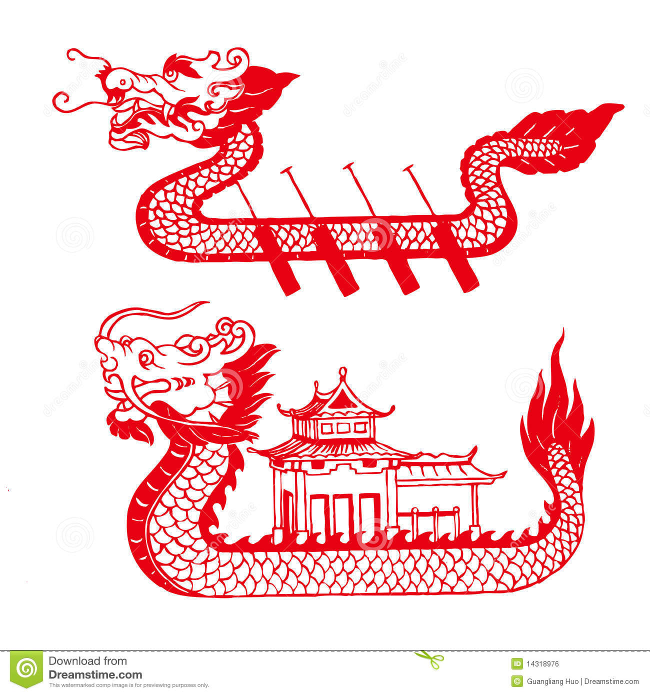 Dragon Boat Royalty Free Stock Image - Image: 14318976