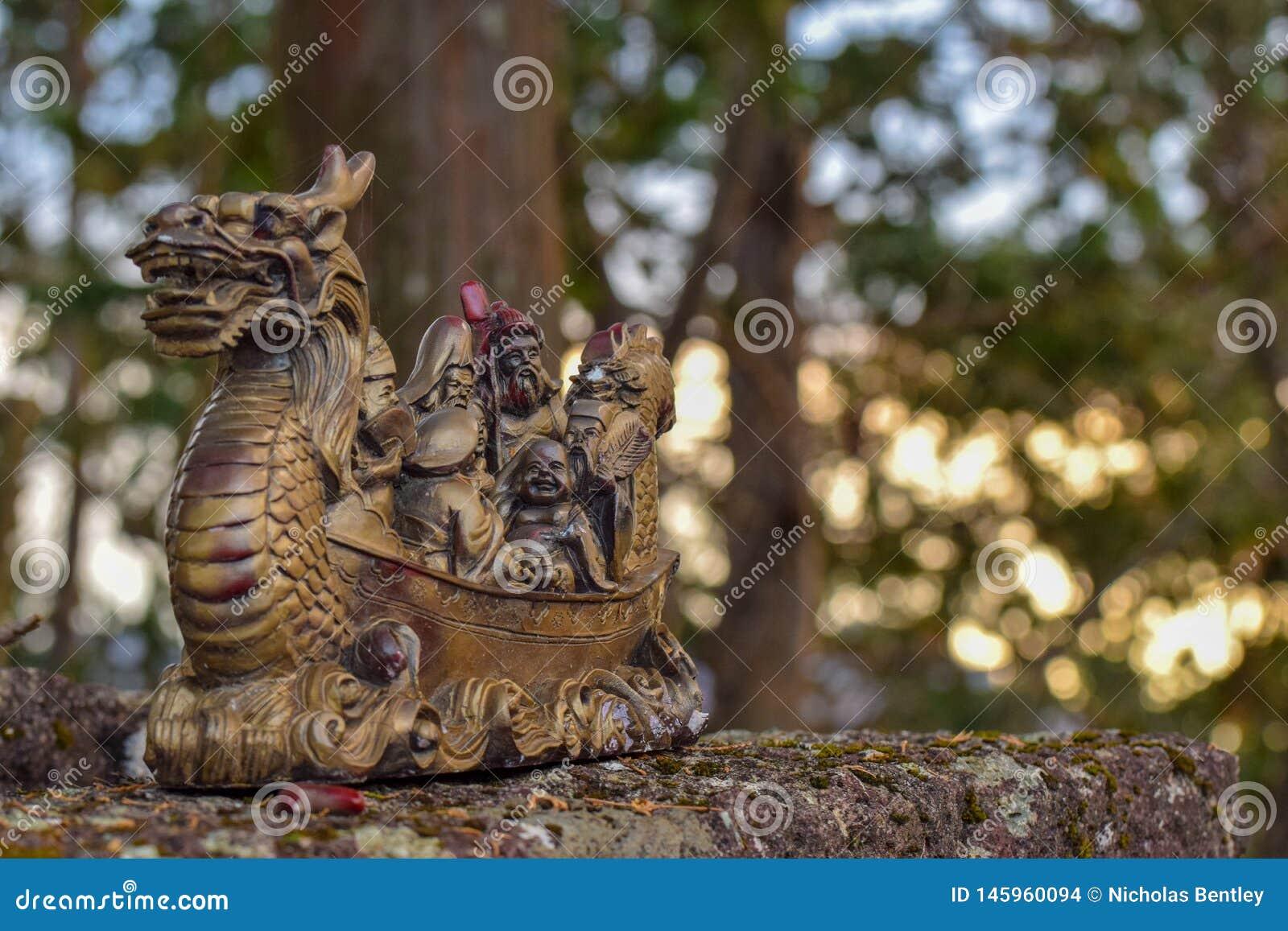 Dragon Boat Buddha, Mt Toyama