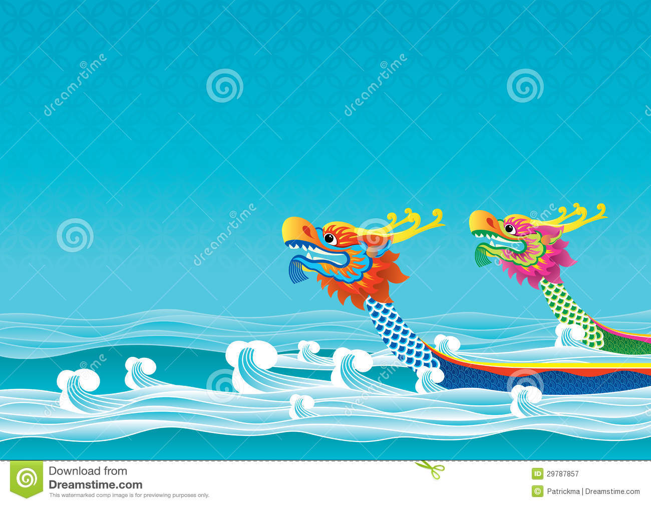 Dragon Boat Festival Background Royalty Free Stock Photography - Image ...