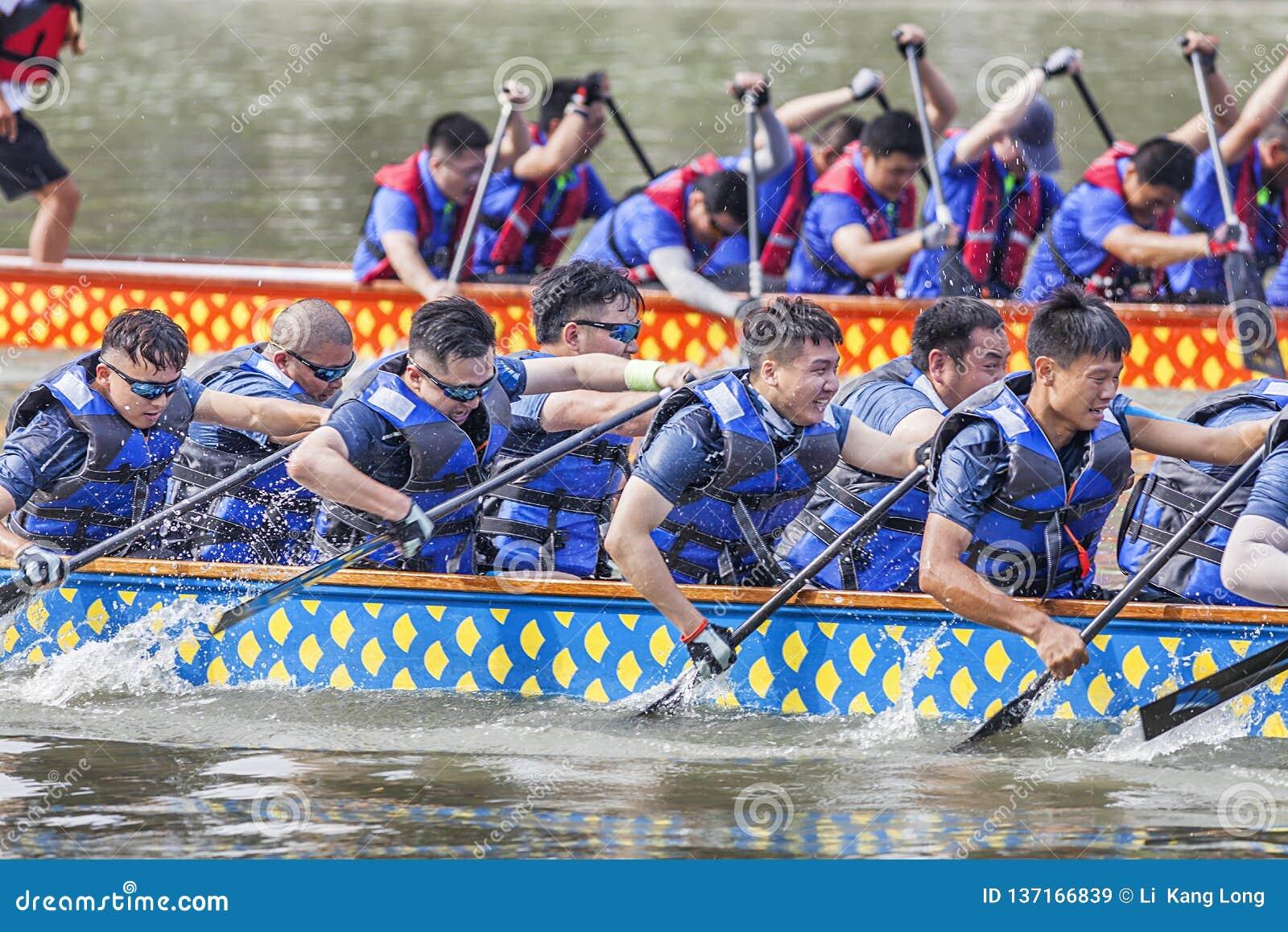 Dragon Boat Festival Competition - Dragon Boat Race tradicionais