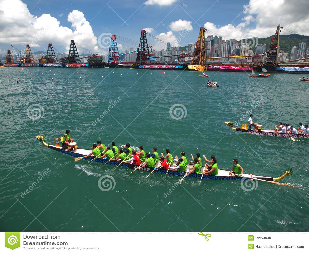 Dragon Boat Race Editorial Image - Image ...