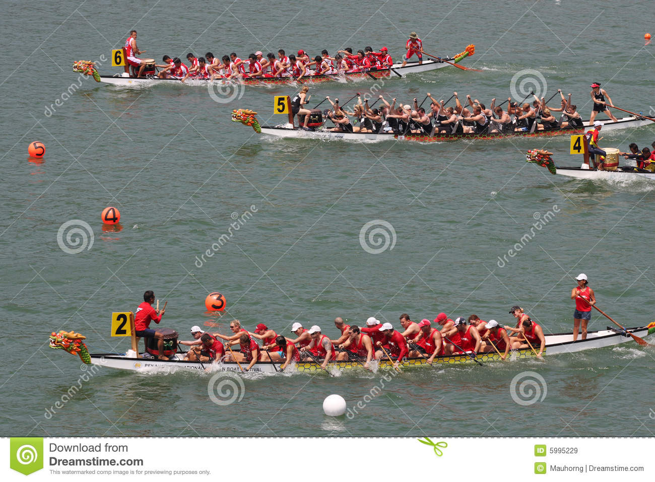 Dragon Boat Race Editorial Stock Image ...