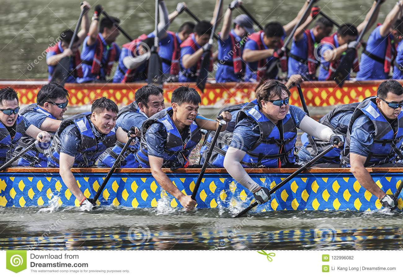 Dragon Boat Race em Dragon Boat Festival