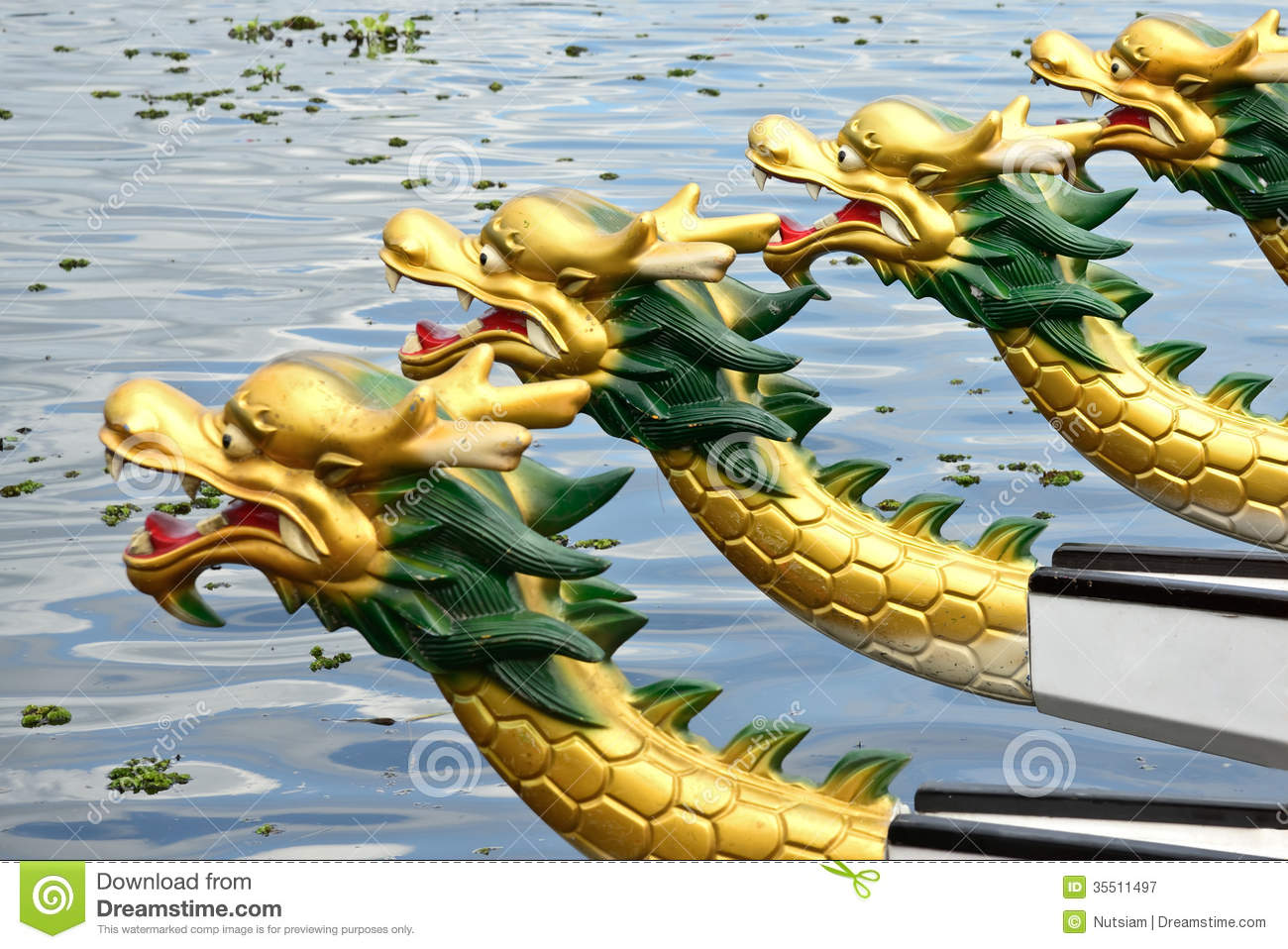 Dragon Boat Race Royalty Free Stock Photography - Image: 35511497