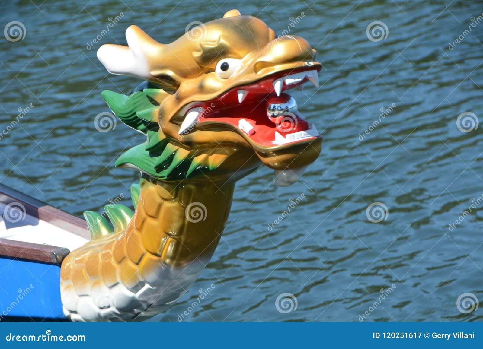 Dragon Boat Dragon in Salem, Oregon