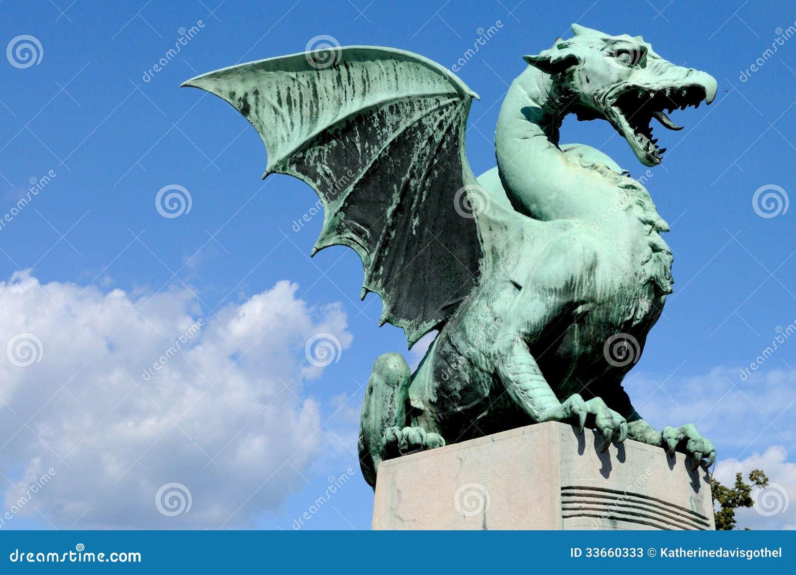 Dragon Bridge Ljubljana Slovenia