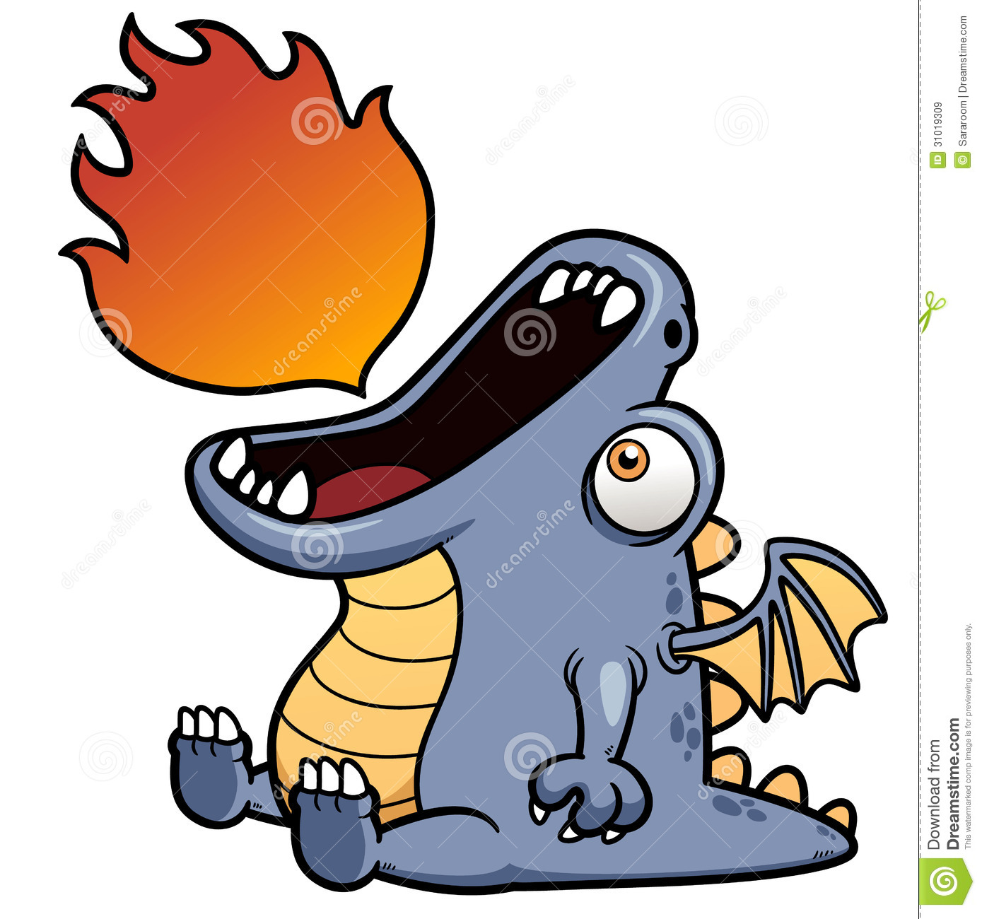 Dragon Cartoon Royalty Free Stock Images - Image: 31019309