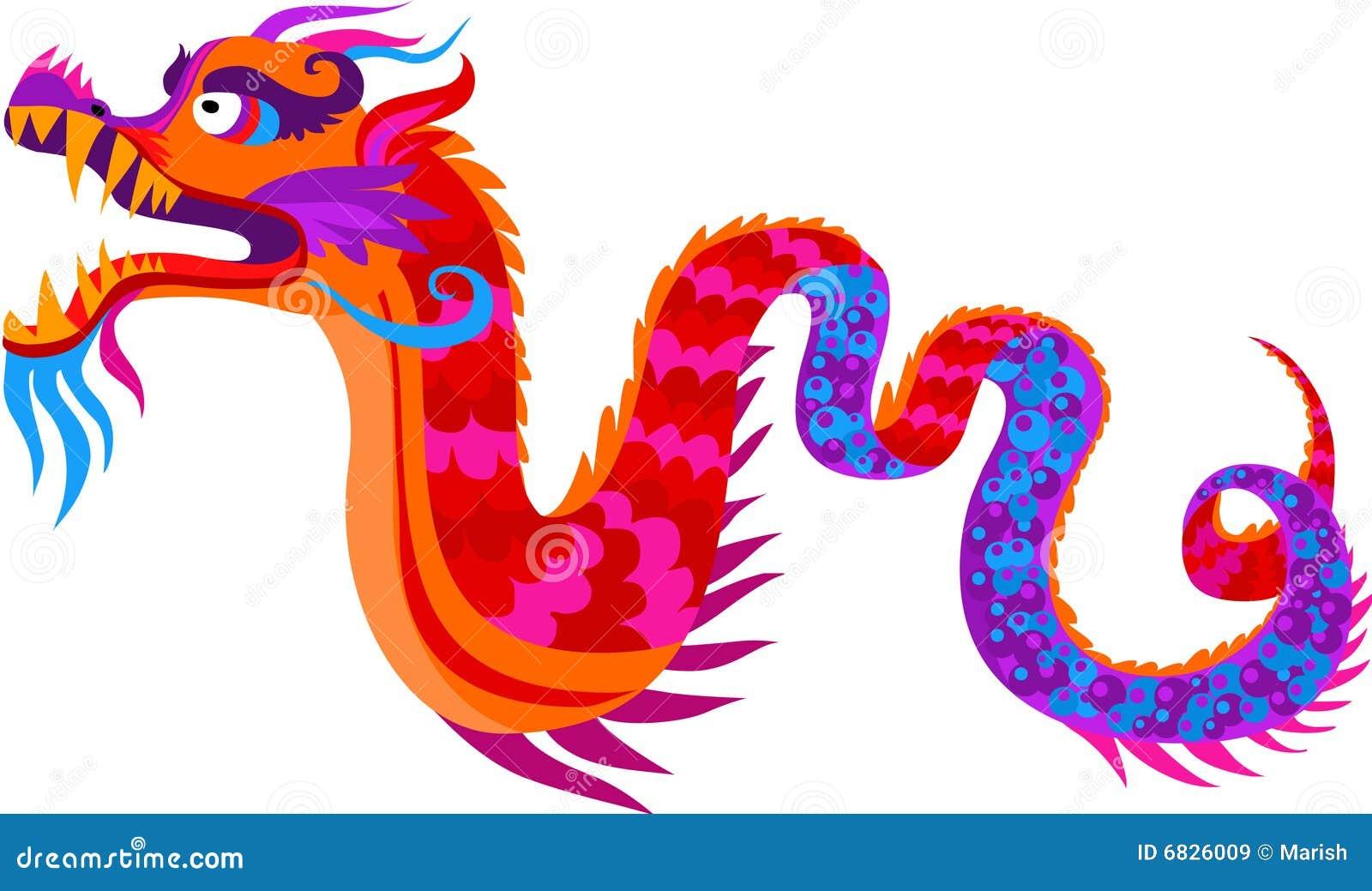 Dragon chinois illustration de vecteur illustration du - Photo de dragon chinois ...
