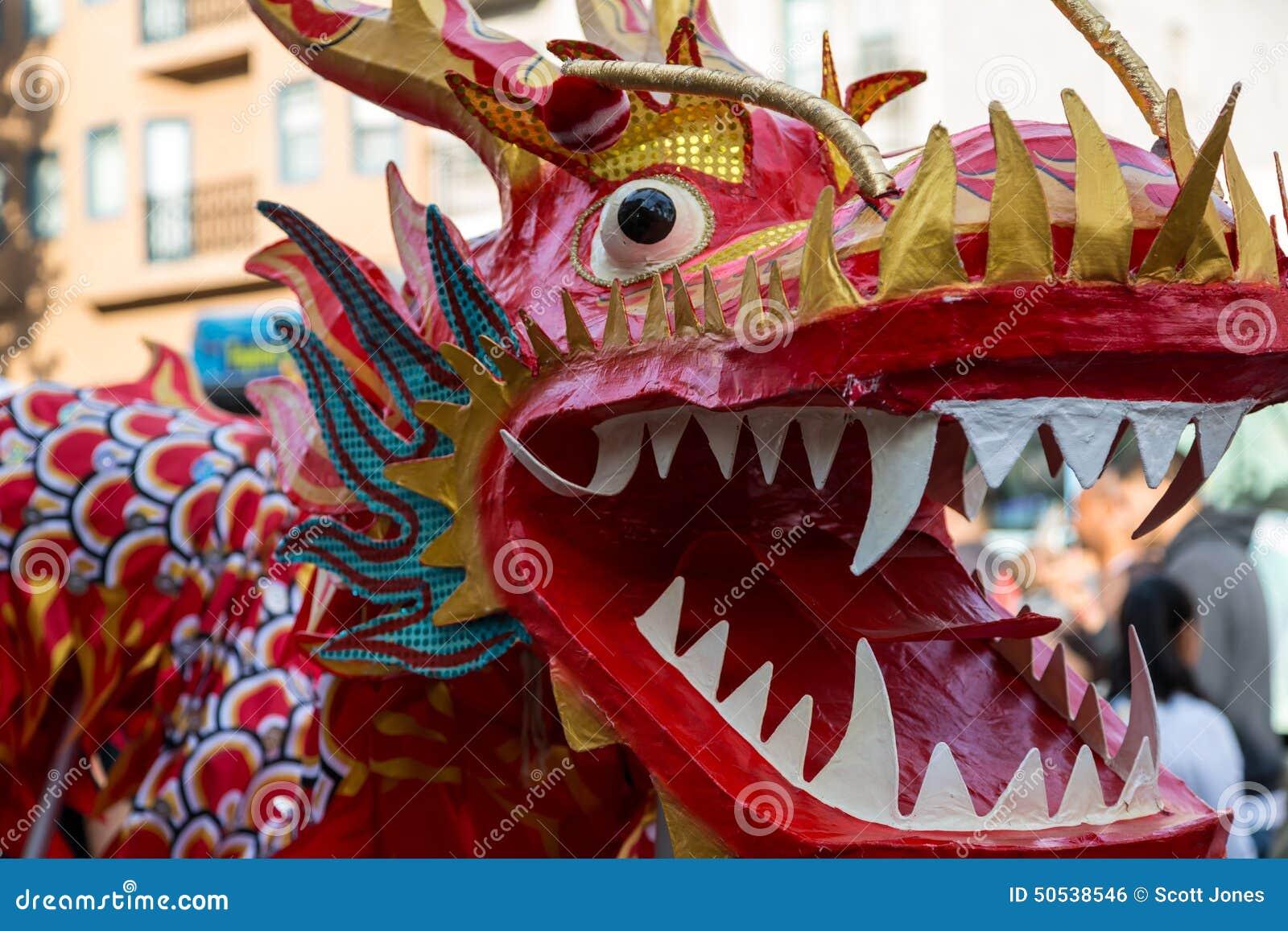 Dragon chinois d an neuf