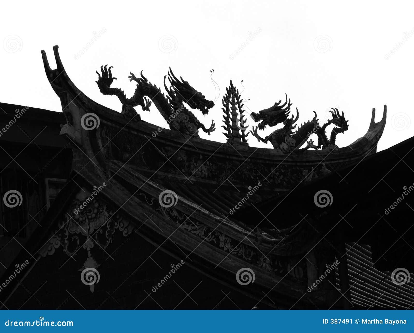 Dragon chinois réel